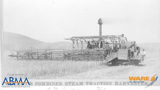 Berry's Steam Powered Combine Harvester