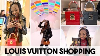 Ordering My New Louis Vuitton Handbag! | Louis Vuitton Shopping + Lunch At Sketch!