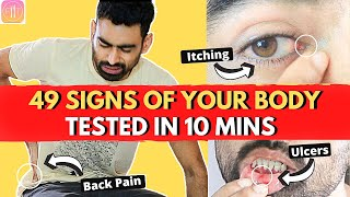 49 Signs Your Body Is Crying For Help (WITH SOLUTION)