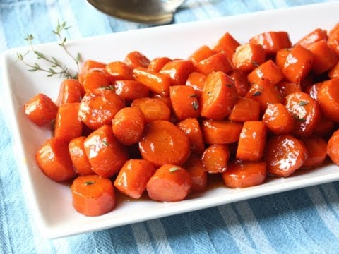Bourbon Glazed Carrots – Special Occasion Carrot Side Dish Recipe