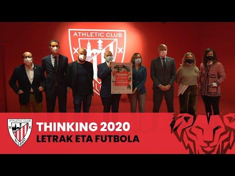 Presentación I Thinking, Letrak eta Futbola 2020