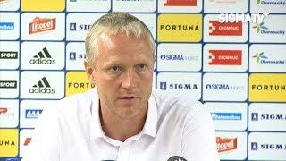 Trenér Jílek po utkání FORTUNA:LIGY s týmem SK Slavia Praha