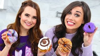 Tasting Weird Donuts w/ Rosanna Pansino