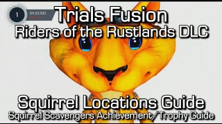 Trials Fusion - Squirrel Locations - Riders of the Rustlands - Squirrel Scavengers Achievement