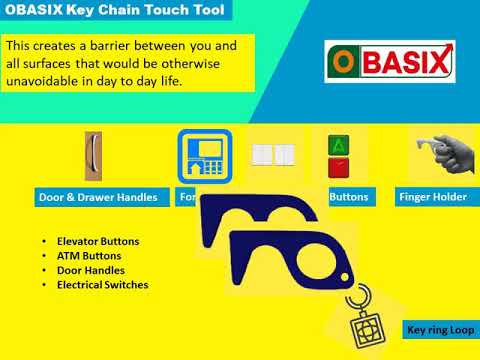 OBASIX Key Chain Touch Tool