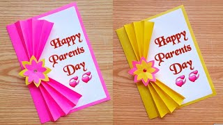 Parent's day card making handmade/ Easy and beautiful card for parent's day | Father's Day Cards