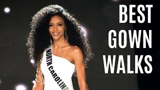Miss USA BEST Evening Gown Walks (2019)