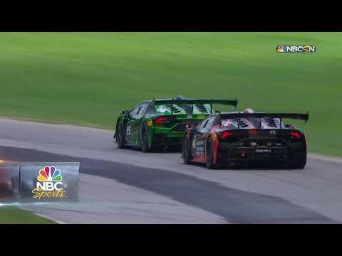 IMSA WTSC バージニア2時間40分 ランボルギーニの速さを競うレースハイライト動画