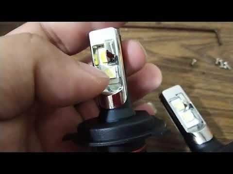 LED H4 cree xhp50 vs xhp50.2 real 28watt