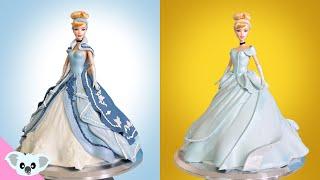 2 Cinderella Princess Doll Cake | Birthday Party| Amazing Cakes| Koalipops