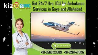 Take the Most Evolved ICU Charter Air Ambulance Services in Gaya