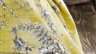 Текстильные новинки 2017 - принты, фактурные однотонники, мебельные ткани.