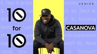 Casanova Will Never, Ever Collaborate With Soulja Boy | 10 For 10