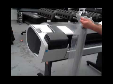 Desingjet T1300 impresora de gran formato, instalacion