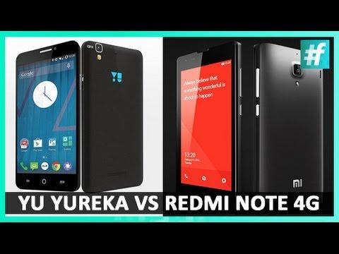 Micromax Yu Yureka Vs Xiaomi Redmi Note 4G I #Gadgetwala Review | #fame Tech