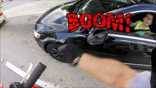 BIKER SMASH MIRROR | ANGRY PEOPLE VS. BIKERS | ROAD RAGE | [Ep. #65]