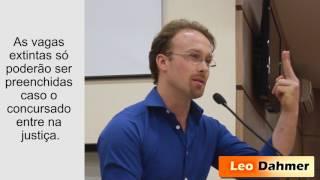 Leo defende concursados contra a extinção de profissionais determinada por Pascoal