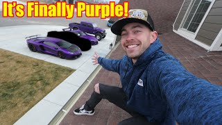 Introducing the new PURPLE Supercar to the Garage!