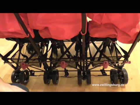 Obaby Drillingsbuggy Triple Buggy Mercury