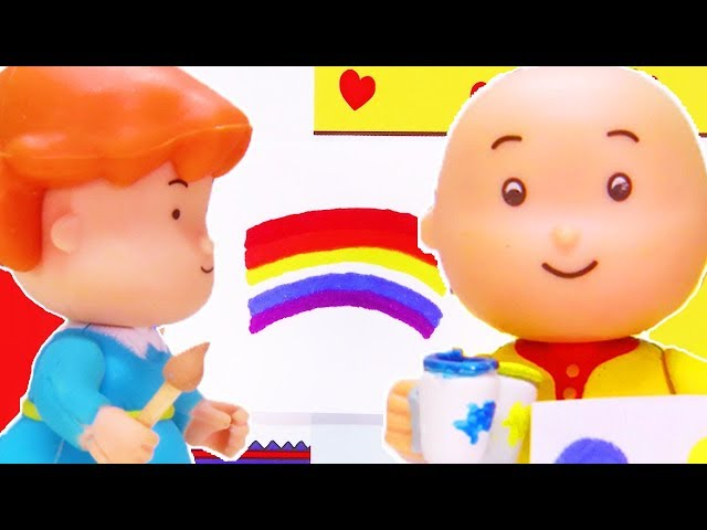 New Rainbow Funny Animated Cartoons Kids Watch Online Caillou Stop Motion Cartoon Movie Ɩ°é—» Now