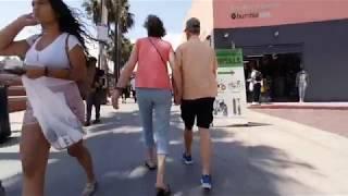 VR180   A Walk Down Venice Beach California   HMD Compatible