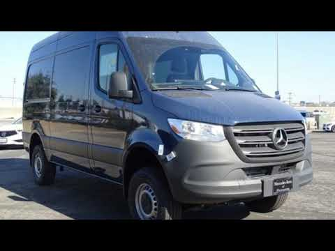 New 2019 Mercedes-Benz Sprinter Crew Van San Francisco San Jose, CA #19-2751