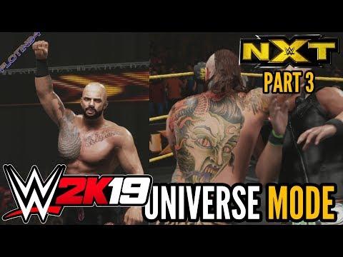 WWE 2K19 | UNIVERSE MODE #3 | 205 Live vs NXT