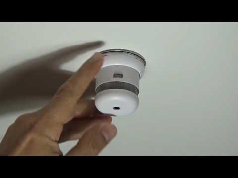 JO-EL Mini Design Rauchmelder (Cavius) - Testfunktion und Alarm