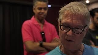 "Maestro Larry Williams completes ""Corcovado"""
