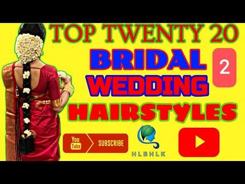 Top Twenty South Indian Bridal Wedding Hairstyles
