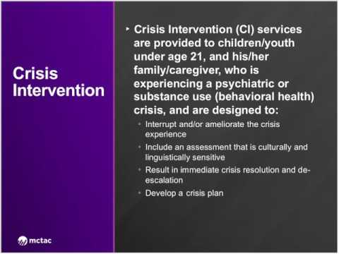 Childrens Spa Service Webinar Crisis Intervention Ctac