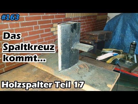 Holzspalter   Der Spalter bekommt seinen Spaltkeil   Schichtspalter   Mr. Moto