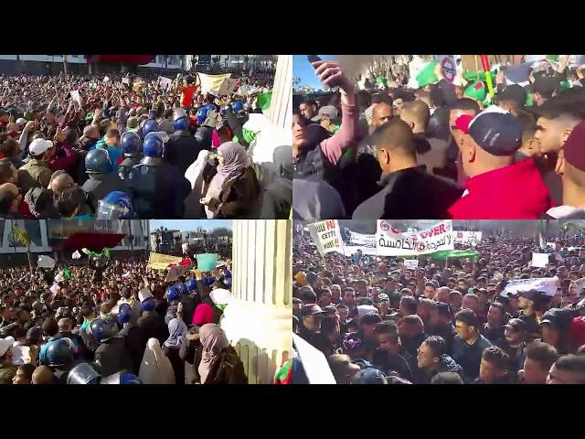 مظاهرات الجزائر  بعد صلاة الجمعة اليوم 29 مارس 2019