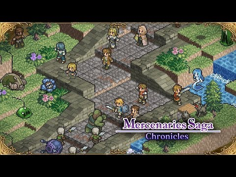 Mercenaries Saga Chronicles 'Battle' Teaser [Nintendo Switch] thumbnail
