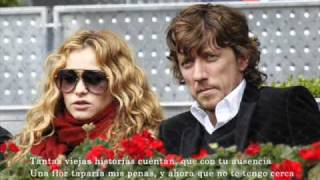 Paulina Rubio - cancion dedicada a su papa (anna carina - solo un segundo)