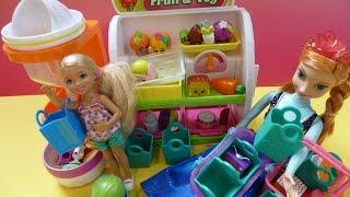 ✿Đồ Chơi SHOPKINS Cửa Hàng Rau Củ Mới (Bí Đỏ) New SHOPKINS Fruit 'N' Veg Supermarket Playset