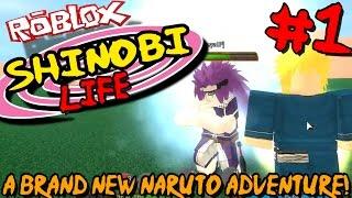ABRANDNEWNARUTOADVENTURE!|Roblox:ShinobiLifeNaruto-Episode1