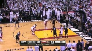 NBA Finals 2013: Game 7, Final minute