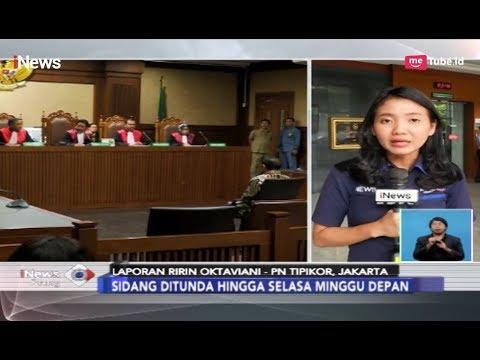 Sidang Vonis Idrus Mahram Kasus Suap dan Gratifikasi PLTU Riau Ditunda - iNews Siang 16/04