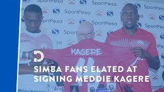 Tanzania's Simba SC fans elated at signing Meddie Kagere from Gor