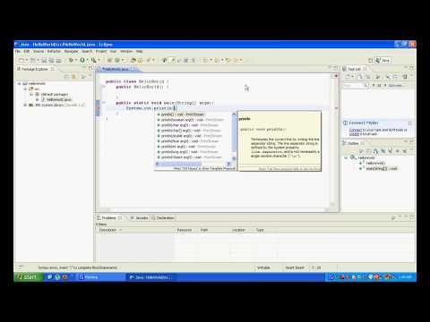 Intro to Java Programming Ep1: Hello World