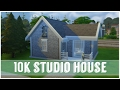 The Sims 4 | 10K BUILD CHALLENGE | Cute Studio House | Speed Build