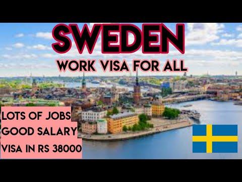 Sweden work visa for All