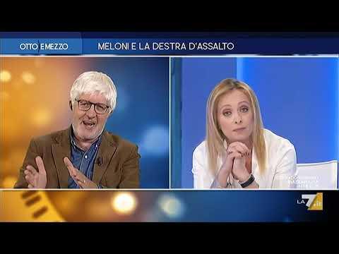 Giorgia Meloni a &quotOtto e Mezzo&quot dalla Gruber: Non potete perdervelo!