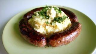 Смотреть онлайн Домашняя колбаса из свинины и говядины