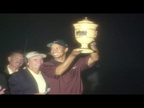 "Signature Shots: Tiger Woods' ""Shot in the Dark"" at Firestone"
