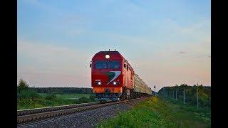 Тепловоз ТЭП70БС-111 с поездом №62 Кишинёв - Санкт-Петербург