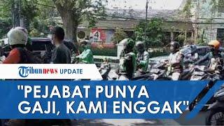 Ribuan Driver Ojol Demo Protes Perpanjangan PPKM: Para Pejabat Punya Gaji, Kami Harus Usaha!