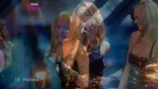 Finland - Eurovision Song Contest 2009 Semi Final 1 - BBC Three