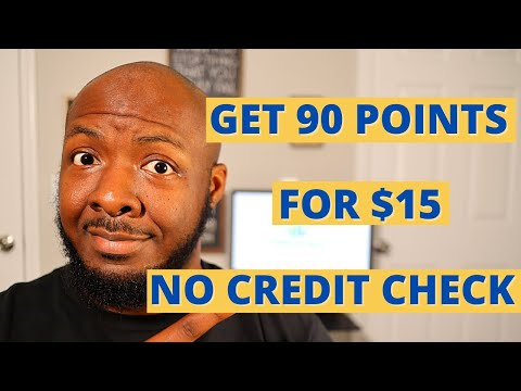 Build Credit Fast | Get 90 Points for $15 | No Credit Check